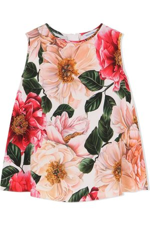 Dolce & Gabbana Kids Floral-print vest