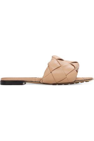 Bottega Veneta 10mm Leather Slide Flats
