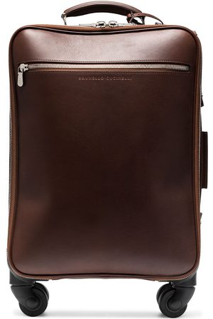 Brunello Cucinelli Carry-on-kuffert i læder