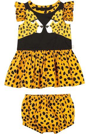Stella McCartney Baby cheetah-print cotton dress