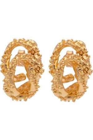 Alighieri Aphrodite 24kt gold-plated earrings