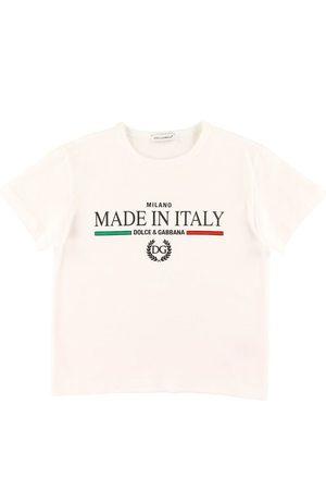 Dolce & Gabbana Kortærmede - T-shirt - DNA Jr - m. Print