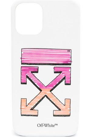 OFF-WHITE IPhone 12 cover med pilemotiv