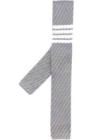 Thom Browne 4-Bar silkeslips