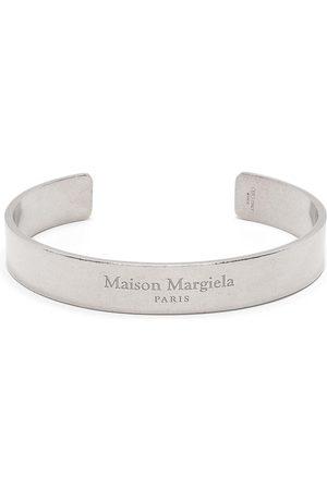 Maison Margiela Cuff-armbånd med indgraveret logo