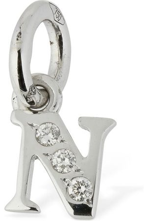 """Dodo Kvinder Ure - 18kt White Gold """"n"""" Charm W/ Diamond"""