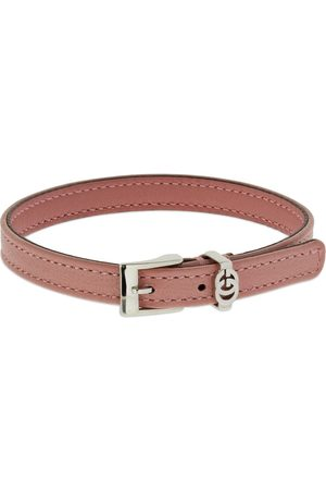 Gucci Interlocking G Leather Bracelet