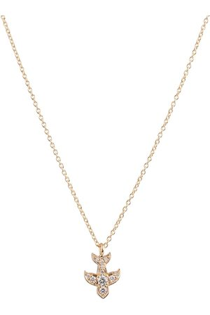SOPHIE BILLE BRAHE Petite Matisse 18kt gold necklace with diamonds