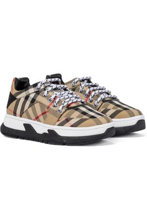 Burberry Vintage Check canvas sneakers
