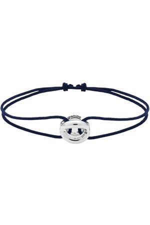Le Gramme Entralacs cord bracelet