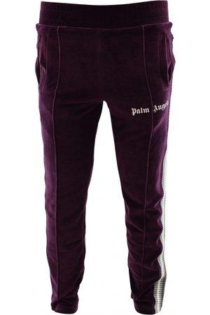 Palm Angels Velvet track trousers