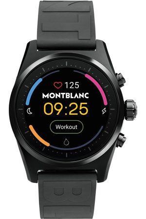 Mont Blanc Mænd Ure - Summit Lite Smartwatch Black Rubber Strap