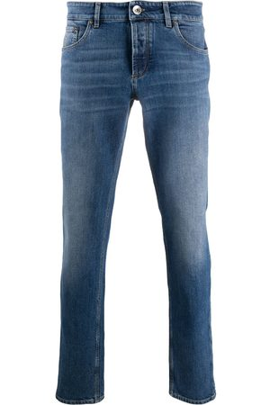 Brunello Cucinelli Jeans med mellemhøj talje og smal pasform