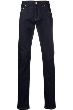 Dolce & Gabbana Mænd Slim - Jeans med præget logo