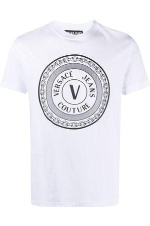 VERSACE Kortærmet T-shirt med logotryk