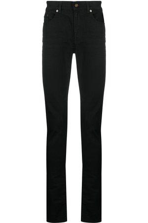 Saint Laurent Tætsiddende jeans med fem lommer