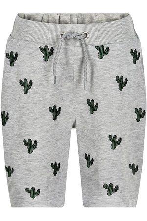 The New Shorts - Shorts - Tyler - Lysegråmeleret m. Kaktusser