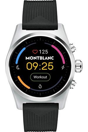 Mont Blanc Mænd Ure - Summit Lite Smartwatch Grey/Black Rubber Strap
