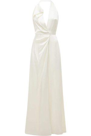 Vivienne Westwood Viscose Crepe Satin Panel Dress