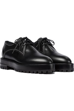 Alaïa Kvinder Pæne sko - Studded leather Derby shoes