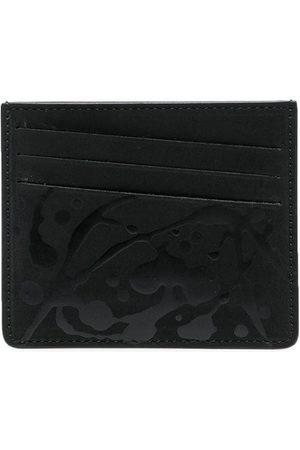 Maison Margiela Slanted logo-patch cardholder