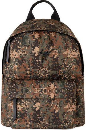Giuseppe Zanotti Mænd Rygsække - Bud camouflage-print backpack