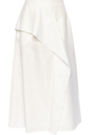 Agnona Nederdel med flæser
