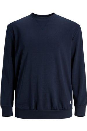 Jack & Jones Ensfarvet Plus Size Sweatshirt Mænd