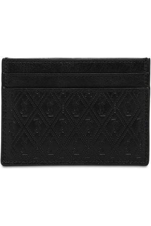 Saint Laurent Allover Monogram Leather Card Holder