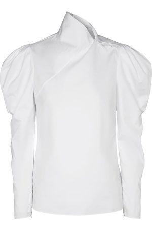 Erdem Cedric cotton poplin blouse