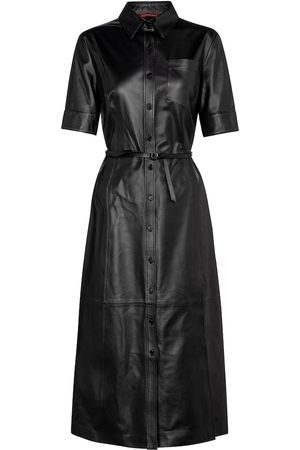 Altuzarra Kura leather midi dress