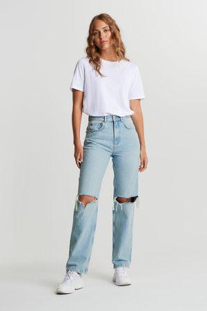Gina Tricot Kvinder High waist - 90s high waist jeans