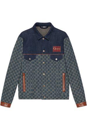 Gucci Mænd Cowboyjakker - Eco washed organic denim jacket