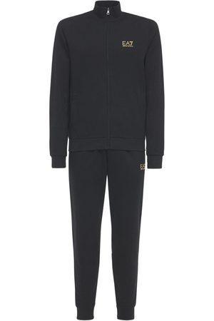 EA7 Mænd Joggingbukser - Train Core Id Sweatshirt & Sweatpants