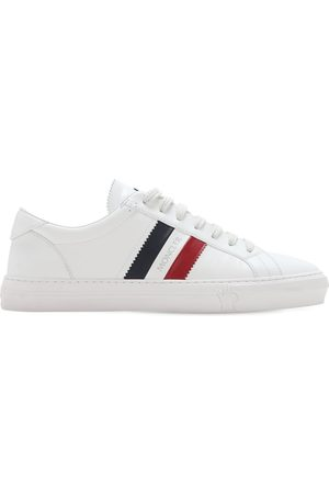 Moncler Mænd Sneakers - New Monaco Leather Sneakers