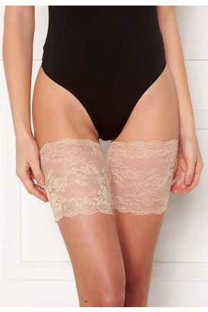 MAGIC Bodyfashion Kvinder Pyjamas - Lace Thigh Band 4XL