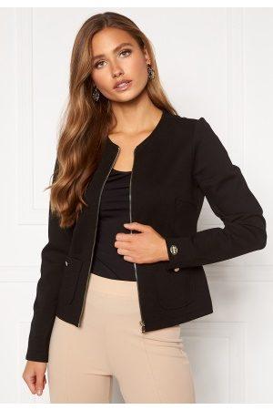 Chiara Forthi Kvinder Blazere - Jaquline button jacket Black L