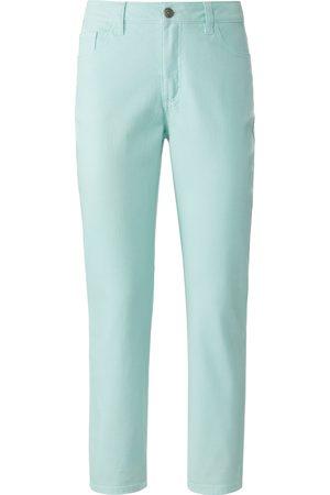 Mybc Kvinder Stretch - Jeans i bomuldsstretch Fra grøn