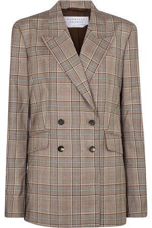 GABRIELA HEARST Angela checked virgin wool blazer