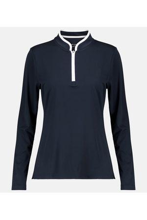 Tory Sport Zip-up jersey top