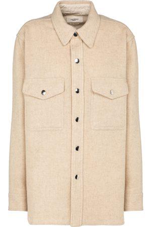 Isabel Marant Faxon wool-blend shirt