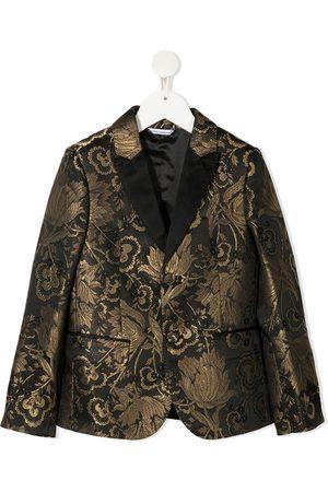 Dolce & Gabbana Drenge Blazere - Blomstret jacquard-blazer