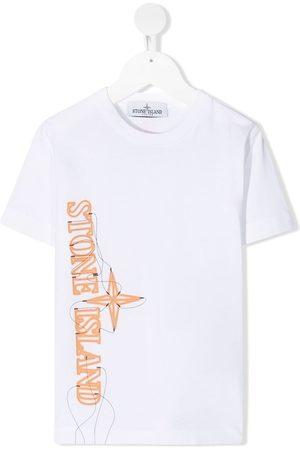 Stone Island Logo-print short-sleeve T-shirt