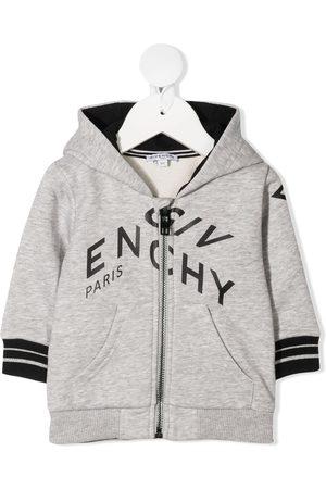 Givenchy Logo zipped hoodie