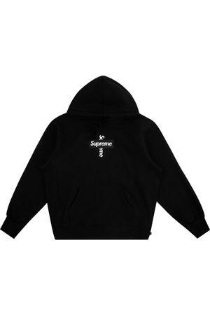 Supreme Mænd Strik - Cross box logo hoodie