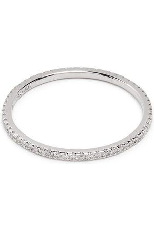 Le Gramme Pavéfattet 1g diamantring i 18 karat hvidguld