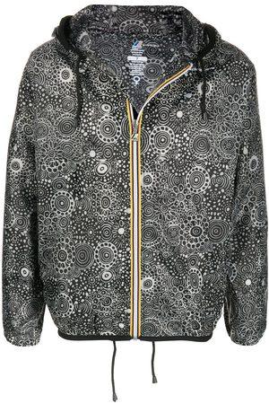 10 CORSO COMO X K-Way graphic-print raincoat