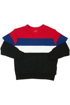 Ralph Lauren Color Block Cotton Sweatshirt