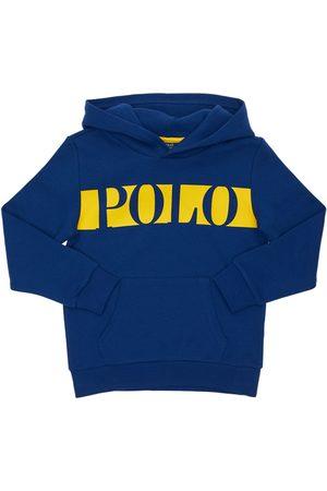 Ralph Lauren Piger Sweatshirts - Logo Print Cotton Sweatshirt Hoodie