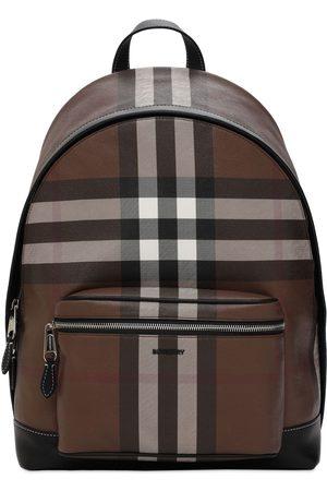 Burberry Mænd Rygsække - Jett Check E-canvas Backpack